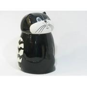 BÜYÜK BOY KAVANOZ  20 cm., DESEN:HAPPY CATS