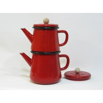 Emaye Çaydanlıklar (8)